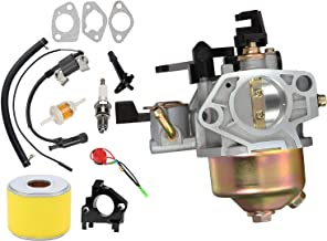 LEIMO GX390 Carburetor with Ignition Coil Air Filter Tune Up kit for Honda GX390 13hp Engines Replaces 16100-ZF6-V01