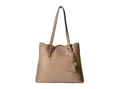 Jessica Simpson Reine Tote (Natural) Tote Handbags