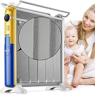 Radiador eléctrico MAHZONG Inicio rápido Calentadores de calefacción de Ahorro de energía de Ahorro de energía de Control Inteligente de Temperatura Constante Waterproofremote-2200w