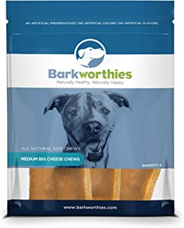 Barkworthies All-Natural Himalayan Yak Cheese Dog Chews - Durable and Long-Lasting Gourmet Dental Health Chew for Dogs