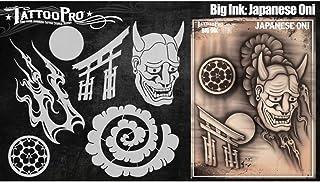 Tattoo Pro Stencils Big Ink - Japaenese Oni