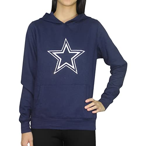 Pink Victoria s Secret Womens DALLAS COWBOYS Hoodie with Rhinestones c2044eaea