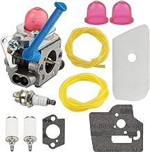 Harbot 128CD 128LD Carburetor for Husqvarna 124L 125E 125C 125L 125LD 125R 125RJ 128C 128L 128LDX 128R 128RJ 128DJX Craftsman String Trimmer with Air Filter Tune Up Kit