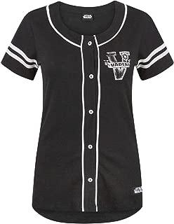 Womens/Ladies Dark Side Baseball T-Shirt