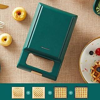 AJH Sandwich Toastie Maker avec Machine à Sandwich Machine Multifonction Petit déjeuner Petite Presse Machine de Cuisson