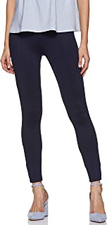 Amazon Brand - Symbol Women's Knitted Skinny Fit Stretchable Casual Trousers
