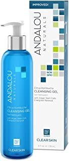 Andalou Naturals Citrus Kombucha Cleansing Gel, 6 Ounces