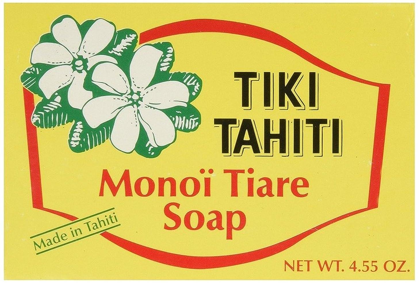 対話委任なくなる海外直送品 Monoi Tiare Soap Bar Gardenia (Tiare), GARDENIA, 4.55 OZ