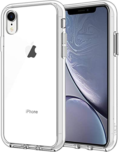 JETech Case for iPhone XR, 6.1-Inch, Shock-Absorption Bumper Cover (HD Clear)