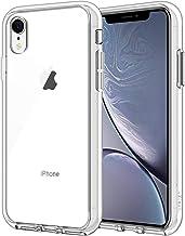 """JETech Funda Compatible iPhone XR 6,1"""", Carcasa Absorción de Impacto, Transparente"""