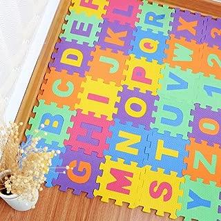 36PCS DIY Puzzle Play Mat Baby EVA Foam Children Soft Developing Floor Pad Crawling Rugs Carpet Playmat Baby Toys Games Tapete