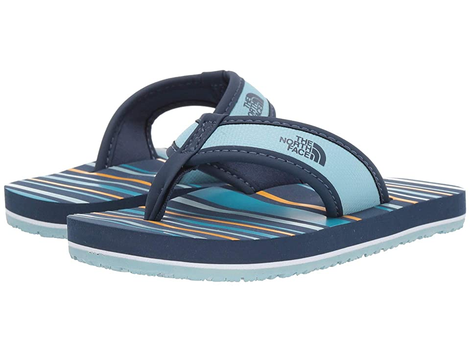 The North Face Kids Base Camp Flip-Flop (Toddler/Little Kid/Big Kid) (Shady Blue/Canal Blue) Kids Shoes