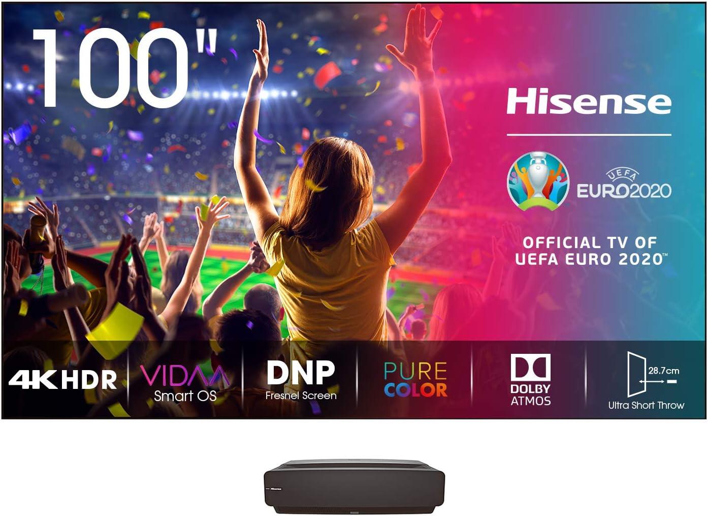 Mejor televisor láser: Hisense 100L5F