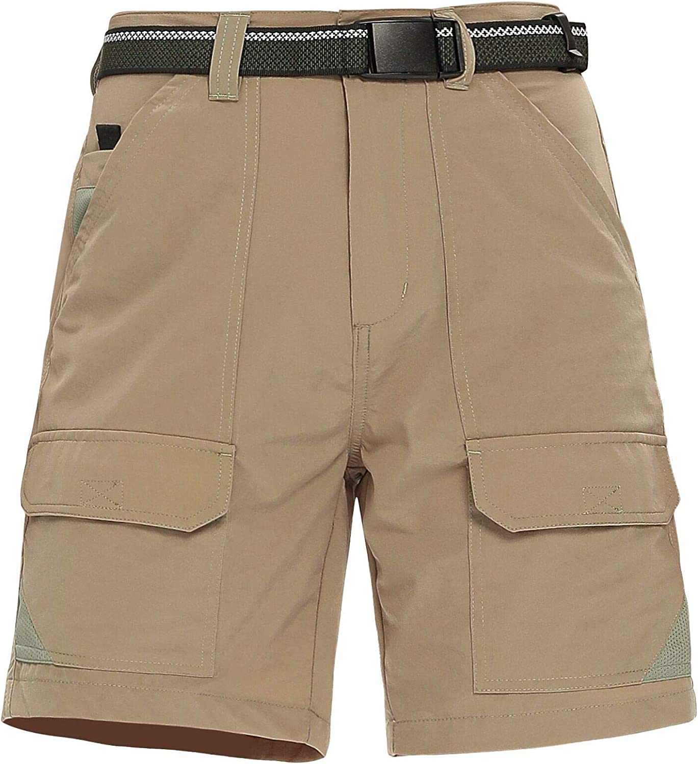 Asfixiado Women's Quick Dry Cargo 7 with Pockets Stretch Shorts Chicago Purchase Mall