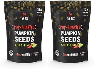 Sponsored Ad - Top Fox Snacks - Organic Pop-Roasted Pumpkin Seeds | Healthy Protein Snacks - Gluten Free - Keto and Vegan ...