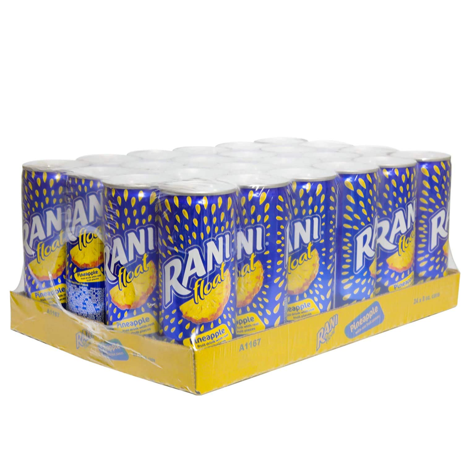 Float Pineapple Juice with Real Fruit of Beverage 24 Pieces Pack Super Max 44% OFF popular specialty store