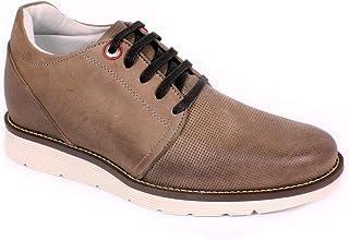 Max Denegri Zapato Casual Avenue Gris 7cms De Altura