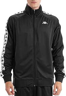 Kappa Men's 222 Banda Anniston Track Jacket, Black