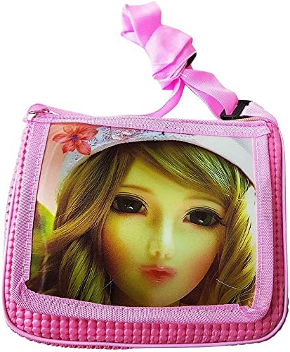 Sling Bags for Girls Kids Bags for Girls Pink Color Pack of 1
