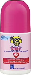Banana Boat Baby Sunscreen Roll On SPF50+, 75ml