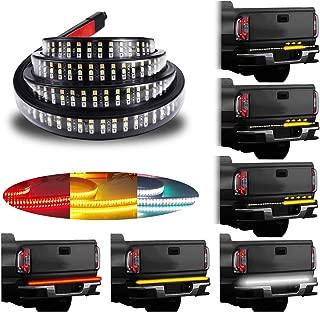 LivTee 60 Inch LED Truck Tailgate Light Bar Strip Super...