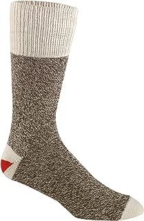 Red Heel Sock 2 Pair w/Instructions Medium Brown