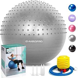 Prettydresses Pompe /à Pied en Plastique Gonflable Yoga Gym Exercise Ball Pompe /à Main