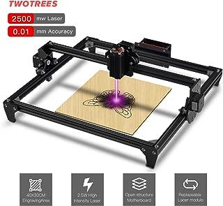 Twotrees DIY CNC Laser Engraver Kits Wood Carving Engraving Cutting Machine Desktop Printer Logo Picture Marking