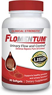 Sponsored Ad - Flomentum® USP Verified Saw Palmetto Prostate Supplement for Men - Supports Healthy Urinary Function - Clin...