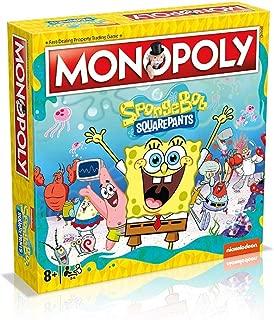 Juego de mesa Monopoly Spongebob Squarepants: Amazon.es: Juguetes ...