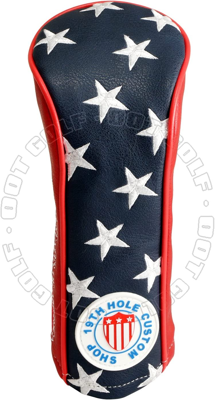 19th Hole Custom Shop US Flag Metal and Max 54% OFF Cash special price Stripes Fairway Wo Stars