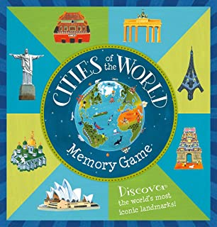 Barefoot Books Cities of the World Memory Game, Multicolor (9781782852209)