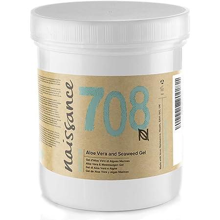 Naissance Gel de Aloe Vera y Algas Marinas - 1kg (2x500g)