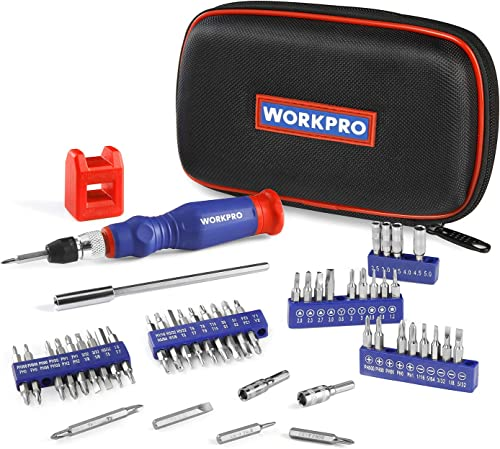 discount WORKPRO Precision Screwdriver Kit 69-piece with Quick Load high quality Screwdriver Bits Holder Handle for Computer, Smartphone, iPhone, popular Game Console and other Electronics Devices outlet online sale