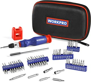 WORKPRO Precision Screwdriver Kit 69-piece with Quick Load Screwdriver Bits Holder Handle for Computer,Smartphone,iPhone,Game Console and other Electronics Devices