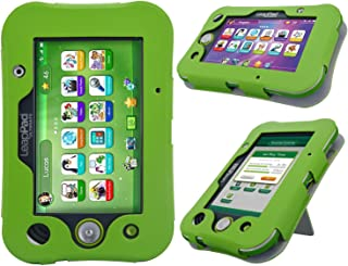 LeapPad Ultimate Case - HOTCOOL New PU Leather with Kickstand Cover Case for Leapfrog LeapPad Ultimate Tablet, Green