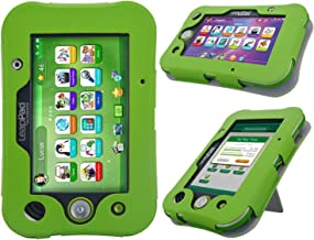 LeapPad Ultimate Case - HOTCOOL New PU Leather With Kickstand Cover Case For LeapFrog LeapPad Ultimate Kids Tablet Green