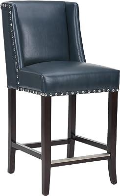 Phenomenal Amazon Com Baxton Studio Olivia Mid Century Modern Bralicious Painted Fabric Chair Ideas Braliciousco