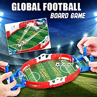 Mini Table Football Sports Game, Children's Puzzle Finger Battle Athletic Mini Football Field Parent-Child Interactive Table Football Toy Field, Soccer Game Ball Children Interactive Board Toys