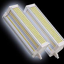 2-pack R7S LED 189mm Lampen 6000K 60W Equivalent 1000W Halogeenlamp Dubbele eindigde LED R7S J189 Basis schijnwerper Linea...