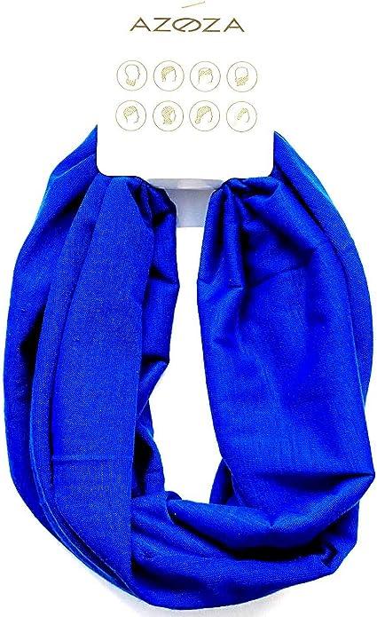Multifunktionstuch Herren Damen Halstuch Schlauchtuch Outdoor Motorrad Fahrrad Schlauchschal Schlauch Tuch Schal Blau Auto