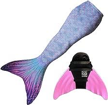 Sun Tail Mermaid Designer Mermaid Tail + Monofin for Swimming