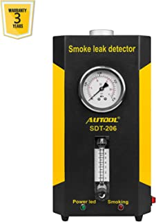 AUTOOL SDT-206 Automotive EVAP Leak Testing Machine, 12V Vehicle Pipes Fuel Leakage Detector Diagnositc Tester for Cars/Motorcycles/Boats from US WAREHOURSE