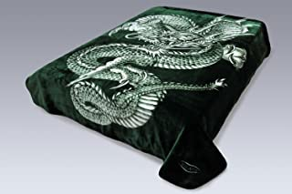 Crover SS-CRV-S8R-V4D-305 Throw Blankets, Green
