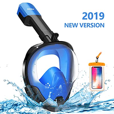 EVOLAND Snorkel Mask Full Face for Adults Kids