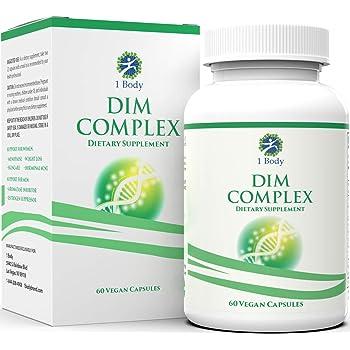 DIM Supplement with Black Cohosh – 200 mg – Menopause Support, Hormone Balance for Women & Estrogen Blocker for Men, Hot Flash Relief, Acne Treatment, PMS Support & Menopause Weight Loss Supplement