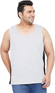 Bigbanana Plus Size Men's Cotton Vest
