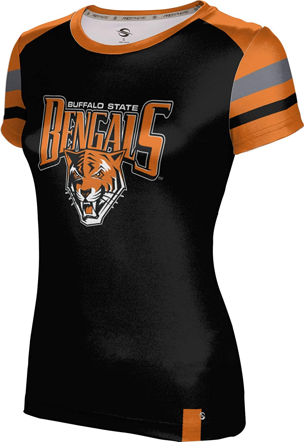 ProSphere Buffalo State College Girls' Performance T-Shirt (Old School)