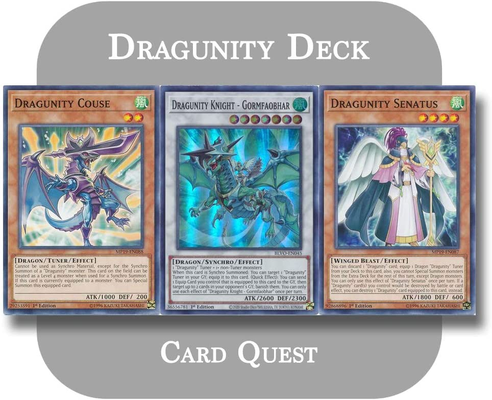Yu-Gi-Oh - Challenge the lowest price of Japan ☆ Complete Dragunity Long Beach Mall Knight Deck Synchro