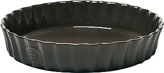 Emile Henry Pie Dish, 24 cm, Black